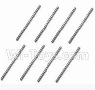 SuBotech BG1508 Parts-WTZ006 Iron shaft(8pcs)-3X54.5,Subotech BG1508 RC Car Spare parts Accessories,1:12 4WD BG1508 RC Racing Car parts,High Speed Drifting Buggy Parts
