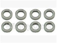 SuBotech BG1518 Car Parts-WZC004 Ball bearing(8pcs)-10X15X4MM,Subotech BG1518 RC Car Spare parts Accessories,1:12 4WD BG1518 RC Racing Car parts,High Speed Drifting Buggy Parts