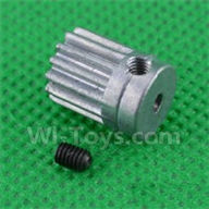 SuBotech BG1509 Parts-H15061304 Small Motor Gear,Subotech BG1509 RC Car Spare parts Accessories,1:12 4WD BG1509 RC Racing Car parts,High Speed Drifting Buggy Parts