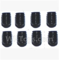 SuBotech BG1509 Parts-WLS017 Hexagon Socket Screws(8pcs)-3X4,Subotech BG1509 RC Car Spare parts Accessories,1:12 4WD BG1509 RC Racing Car parts,High Speed Drifting Buggy Parts