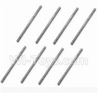 SuBotech BG1509 Parts-WTZ006 Iron shaft(8pcs)-3X54.5,Subotech BG1509 RC Car Spare parts Accessories,1:12 4WD BG1509 RC Racing Car parts,High Speed Drifting Buggy Parts