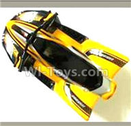 FQ777 HOPPER 9011 spare Parts-27-01 S1510A000 Car canopy,Shell cover-Yellow,FQ777 HOPPER 9011 RC Car Spare parts Accessories,1:24 4WD FQ777-9011 RC Racing Car parts,High Speed Drifting Buggy Parts