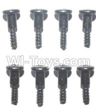 FQ777 HOPPER 9011 spare Parts-56 WLS024 Steps screws(8pcs)-M2.7X10,FQ777 HOPPER 9011 RC Car Spare parts Accessories,1:24 4WD FQ777-9011 RC Racing Car parts,High Speed Drifting Buggy Parts