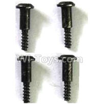 FQ777 HOPPER 9011 spare Parts-57 WLS025 Steps screws(4pcs)-M2.7X11.5,FQ777 HOPPER 9011 RC Car Spare parts Accessories,1:24 4WD FQ777-9011 RC Racing Car parts,High Speed Drifting Buggy Parts