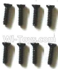 FQ777 HOPPER 9011 spare Parts-63 WLS033 Countersunk head screws(8pcs)-M1.4X6,FQ777 HOPPER 9011 RC Car Spare parts Accessories,1:24 4WD FQ777-9011 RC Racing Car parts,High Speed Drifting Buggy Parts