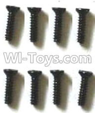 Subotech BG1510B Parts-WLS033 Countersunk head screws(8pcs)-M1.4X6,Subotech BG1510B RC Car Spare parts Accessories,1:24 4WD BG1510B RC Racing Car parts,High Speed Drifting Buggy Parts