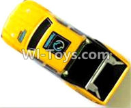 Subotech BG1510C Parts-S1510B000 Car canopy,Shell cover-Yellow,Subotech BG1510C RC Car Spare parts Accessories,1:24 4WD BG1510C RC Racing Car parts,High Speed Drifting Buggy Parts