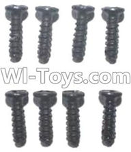 Subotech BG1510C Parts-WLS026 Pan head screws(8pcs)-M2.7X7,Subotech BG1510C RC Car Spare parts Accessories,1:24 4WD BG1510C RC Racing Car parts,High Speed Drifting Buggy Parts