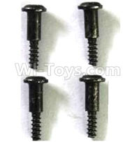 FQ777 HOPPER 9014 spare Parts-57 WLS025 Steps screws(4pcs)-M2.7X11.5,FQ777 HOPPER 9014 RC Car Spare parts Accessories,1:24 4WD FQ777-9014 RC Racing Car parts,High Speed Drifting Buggy Parts