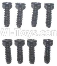 FQ777 HOPPER 9014 spare Parts-58 WLS026 Pan head screws(8pcs)-M2.7X7,FQ777 HOPPER 9014 RC Car Spare parts Accessories,1:24 4WD FQ777-9014 RC Racing Car parts,High Speed Drifting Buggy Parts
