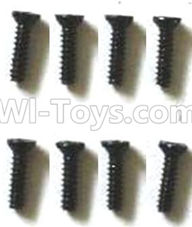 Subotech BG1510D Parts-WLS033 Countersunk head screws(8pcs)-M1.4X6,Subotech BG1510D RC Car Spare parts Accessories,1:24 4WD BG1510D RC Racing Car parts,High Speed Drifting Buggy Parts