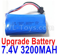 Subotech BG1521 Upgrade Battery Parts-Upgrade 7.4V 3200mah Battery(1pcs)