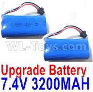 Subotech BG1521 Upgrade Battery Parts-Upgrade 7.4V 3200mah Battery(2pcs)