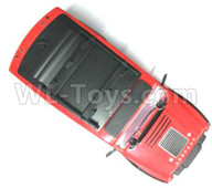 Subotech BG1521 Body shell Parts-Body Shell assembly(Red)-CJ0047