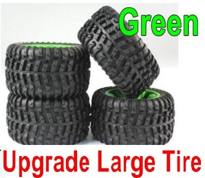 Subotech BG1521 Parts-Upgrade Large Wheel unit(Green)-4 Set