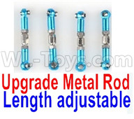 Subotech BG1521 Parts-Upgrade Metal Rod(Length adjustable)-9pcs-Blue23 Upgrade Metal Rod(Length adjustable)-9pcs-Blue