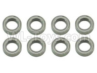 Subotech BG1521 Parts-Bearing,Ball bearing(8X12X3.5mm)-8pcs-WZC004