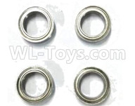 Subotech BG1521 Parts-Bearing,Ball bearing(10X15X4mm)-4pcs-WZC005