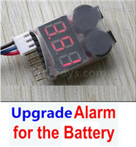 Subotech BG1525 WARRIOR Parts-Upgrade Alarm for the Battery.You can hear the Alarm in 50 meters distance.