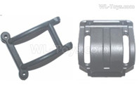Subotech BG1525 Parts-Rear safety frame components. S15060201+204