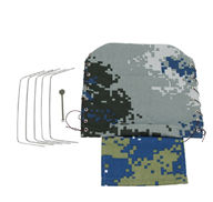 WPL B-14 B14 Parts-01-03 6 drive Military truck awning-Camouflage-Blue,WPL B-14 B14 RC Car Parts,WPL 4X4 Parts,WPL B14 B-14 RC Military Truck Spare parts Accessories,WPL 1:16 Off-road Truck Parts