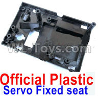 WPL B-24 B24 GAZ-66 Parts-18-01 Official Plastic Servo Fixed seat,Servo Frame,WPL B-24 B24 RC Car Parts,WPL GAZ-66 Parts,WPL B24 B-24 RC Military Truck Spare parts Accessories,WPL 4X4 1:16 Off-road Truck Parts