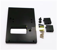 WPL B-14 B14 Parts-18-05 Upgrade Metal Servo Fixed seat,Servo Frame-Black,WPL B-14 B14 RC Car Parts,WPL 4X4 Parts,WPL B14 B-14 RC Military Truck Spare parts Accessories,WPL 1:16 Off-road Truck Parts