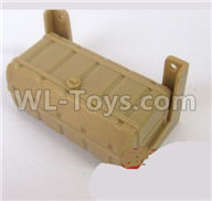 WPL B14 B-14 4X4 Truck Parts-38-01 Original car simulation fuel tank accessories-Yellow,WPL B14 B-14 RC Car Parts,WPL 4X4 Parts,WPL B14 B-14 RC Military Truck Spare parts Accessories,WPL 1:16 Off-road Truck Parts