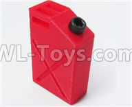 WPL B14 B-14 4X4 Truck Parts-38-03 Upgrade 3D-printing car simulation fuel tank accessories-Red,WPL B14 B-14 RC Car Parts,WPL 4X4 Parts,WPL B14 B-14 RC Military Truck Spare parts Accessories,WPL 1:16 Off-road Truck Parts