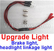 WPL C24 C-24 Spare Parts-16-05 Brake light, headlight linkage light(You need buy the ESC with Brake function),WPL C24 C-24 RC Car Parts,WPL Parts,WPL C24 C-24 RC Military Truck Spare parts Accessories,WPL 4X4 1:16 Off-road Truck Parts