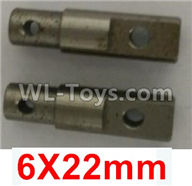 Wltoys 10402 10402.0864 Differential cup shaft(2pcs)-6X22mm