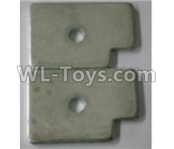 Wltoys 10402 10402.0889 Counterweight block B(2pcs)-35.6x24.4x3mm
