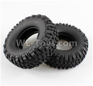 Wltoys 10428-2 Parts-K949-02 Tire lether(2pcs),Wltoys 10428-2 Rc Car Parts,High speed 1:10 Scale 4wd,10428-B2 Electric Power On Road Drift Racing Truck Car Parts