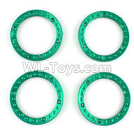 Wltoys 10428-2 Parts-K949-04 Tire positioning ring(4pcs),Wltoys 10428-2 Rc Car Parts,High speed 1:10 Scale 4wd,10428-B2 Electric Power On Road Drift Racing Truck Car Parts