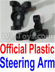 Wltoys 10428-2 Parts-K949-11 Official Plastic Steering arm-2pcs,Wltoys 10428-2 Rc Car Parts,High speed 1:10 Scale 4wd,10428-B2 Electric Power On Road Drift Racing Truck Car Parts