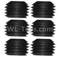 Wltoys 10428-2 Parts-A929-86 Jimi screws-M3X5-Black zinc plated(6PCS),Wltoys 10428-2 Rc Car Parts,High speed 1:10 Scale 4wd,10428-B2 Electric Power On Road Drift Racing Truck Car Parts