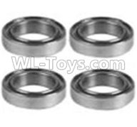 Wltoys 10428-2 Parts-K929-52 K939-52 Bearing(10X15X4)-4PCS,Wltoys 10428-2 Rc Car Parts,High speed 1:10 Scale 4wd,10428-B2 Electric Power On Road Drift Racing Truck Car Parts