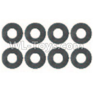 Wltoys 10428-2 Parts-0323 Flat Washer(8pcs)-6x9.5x1.5mm,Wltoys 10428-2 Rc Car Parts,High speed 1:10 Scale 4wd,10428-B2 Electric Power On Road Drift Racing Truck Car Parts