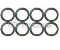 Wltoys 10428-2 Parts-0324 Flat Washer(8pcs)-10x14x0.5mm,Wltoys 10428-2 Rc Car Parts,High speed 1:10 Scale 4wd,10428-B2 Electric Power On Road Drift Racing Truck Car Parts