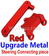 Wltoys 10428-2 Parts-K949-15 Upgrade Metal Steering connecting piece-Red,Wltoys 10428-2 Rc Car Parts,High speed 1:10 Scale 4wd,10428-B2 Electric Power On Road Drift Racing Truck Car Parts