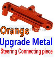 Wltoys 10428-2 Parts-K949-15 Upgrade Metal Steering connecting piece-Orange,Wltoys 10428-2 Rc Car Parts,High speed 1:10 Scale 4wd,10428-B2 Electric Power On Road Drift Racing Truck Car Parts