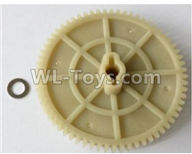 Wltoys 10428-2 Parts-10428-2.0327 Large reduction gear 65T,Wltoys 10428-2 Rc Car Parts,High speed 1:10 Scale 4wd,10428-B2 Electric Power On Road Drift Racing Truck Car Parts