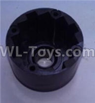 Wltoys 10428-2 Parts-K949-34 Rear Differential case,Rear Differential Box,Wltoys 10428-2 Rc Car Parts,High speed 1:10 Scale 4wd,10428-B2 Electric Power On Road Drift Racing Truck Car Parts
