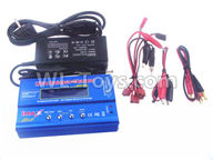 Wltoys 10428-2 Parts-Upgrade B6 Balance charger and Power Charger unit(Can charger 2S 7.4v or 3S 11.1V Battery),Wltoys 10428-2 Rc Car Parts,High speed 1:10 Scale 4wd,10428-B2 Electric Power On Road Drift Racing Truck Car Parts