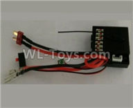 Wltoys 10428-2 Parts-10428-2.0474 2.4G Circuit board,Receiver board,Wltoys 10428-2 Rc Car Parts,High speed 1:10 Scale 4wd,10428-B2 Electric Power On Road Drift Racing Truck Car Parts