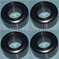Wltoys 10428-2 Parts-Bearing(4X8X3)-4pcs,Wltoys 10428-2 Rc Car Parts,High speed 1:10 Scale 4wd,10428-B2 Electric Power On Road Drift Racing Truck Car Parts