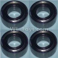 Wltoys 10428-2 Parts-Bearing(5X10X4)-4pcs,Wltoys 10428-2 Rc Car Parts,High speed 1:10 Scale 4wd,10428-B2 Electric Power On Road Drift Racing Truck Car Parts