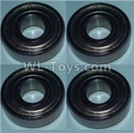 Wltoys 10428-2 Parts-Bearing(5X13X4)-4pcs,Wltoys 10428-2 Rc Car Parts,High speed 1:10 Scale 4wd,10428-B2 Electric Power On Road Drift Racing Truck Car Parts