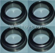 Wltoys 10428-2 Parts-Bearing with Deep groove(4pcs),Wltoys 10428-2 Rc Car Parts,High speed 1:10 Scale 4wd,10428-B2 Electric Power On Road Drift Racing Truck Car Parts