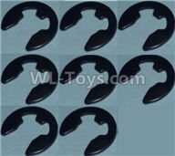 Wltoys 10428-2 Parts-4E Shape Buckle(8pcs),Wltoys 10428-2 Rc Car Parts,High speed 1:10 Scale 4wd,10428-B2 Electric Power On Road Drift Racing Truck Car Parts